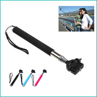 Accessories for Gopro  Handheld Aluminum Alloy Flexible Telescopic Monopod Tripod Holder for SJ4000 for GoPro HD Hero1 2 3