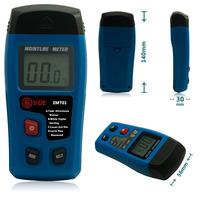 EMT01 Portable 2 pins Digital Wood Moisture Tester Meter LCD Display Data Hold 0~99.9% Humidity Measurement