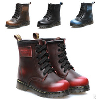 Autumn Winter Children Boots  Fashion Girls &Boys Martin Boots Kids Genuine Leather Shoes Boy Shoe China Top Brand SRTX5002