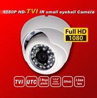 Free shipping HD TVI 1080P1/2.8''Sony Exmor Sensor security camera TVI camera 24IR 3Mega 3.6MM UTC HD-TVI dome cctv camera white