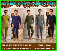 Functional top-quality Winter thermal underwear man,Emit anion,Anti-bacteria,Deodorant,Thick men's thermal underwear,Long Johns