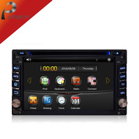 Double Two 2 Din 2Din Car DVD Player Universal WIth 3G GPS Navigation Audio Radio Stereo Head Unit DVD Automotivo Pc Car Styling