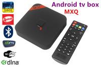 MXQ Amlogic S805 Quad Core XBMC TV Box 1G RAM 8G ROM Android 4.4 OS H.265 Wifi LAN Miracast Airplay DLNA bluetooth free shipping
