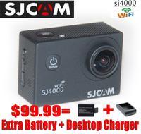 Original WiFi SJCAM SJ4000 1080P Full HD Camera Style Extreme Sport DV Action Camera Diving 30M Waterproof KOREA FREE BY EMS
