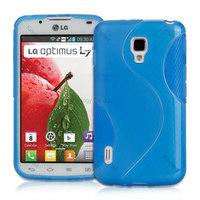S Line TPU GEL Case Cover  for LG OPTIMUS L7 II DUAL P715