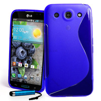 S Line TPU GEL Case Cover  for LG Optimus G Pro E980