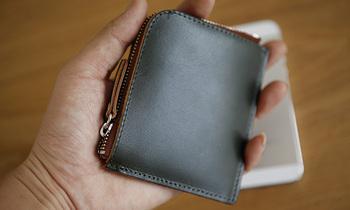 Lan бесплатная доставка мужская кожа маленький кошелек мини кошелек ручной работы ...