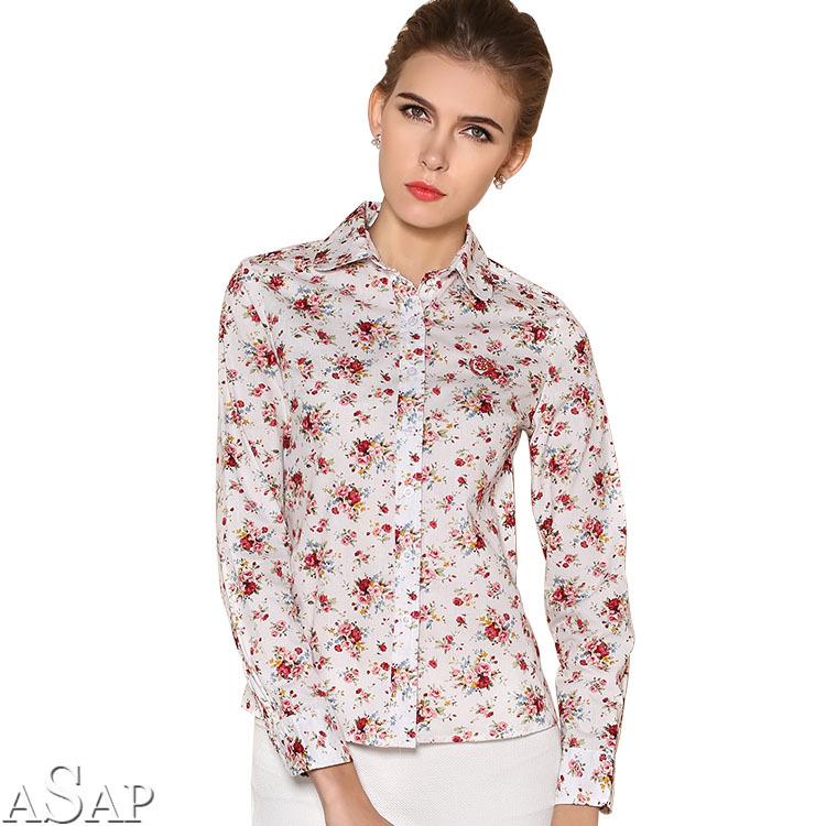 С чем носить рубашки в цветочек