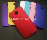 For Google Nexus 6 Matte Hard Cases,New Rubber Hard Back Cover Case For Motorola Moto Nexus 6