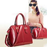 Famous Brands Handbags 2014 Hot Women Genuine Leather Bags Women Handbag Fashion sequined bolsos Tote Vintage Bag Shoulder Bags