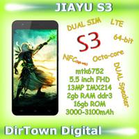 2015 New Cellphone Original Jiayu S3 Mobile Phone LTE Dual SIM Mtk6752 64-bit Octa-core 5.5 Inch FHD 13mp IMX214 3000mAh Glonass