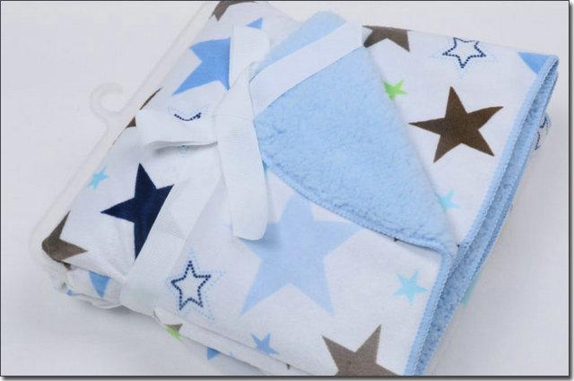 Baby Star Fleece Blanket Baby Fleece Blanket Autumn