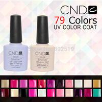 24Pcs/lot 2014 New CND Shellac Soak Off UV LED Nail Gel Polish Total 79 Fashion Colors For Nail Gel