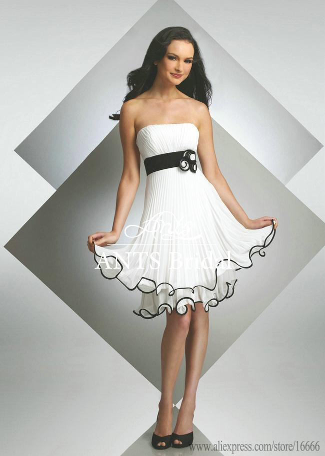 strapless bridesmaid dress with black belt fashion