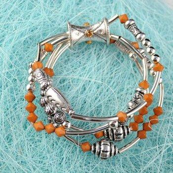 India Fashion Multi row Bracelets Bangles, Woman Fashion Jewellery Bracelet BR-556B