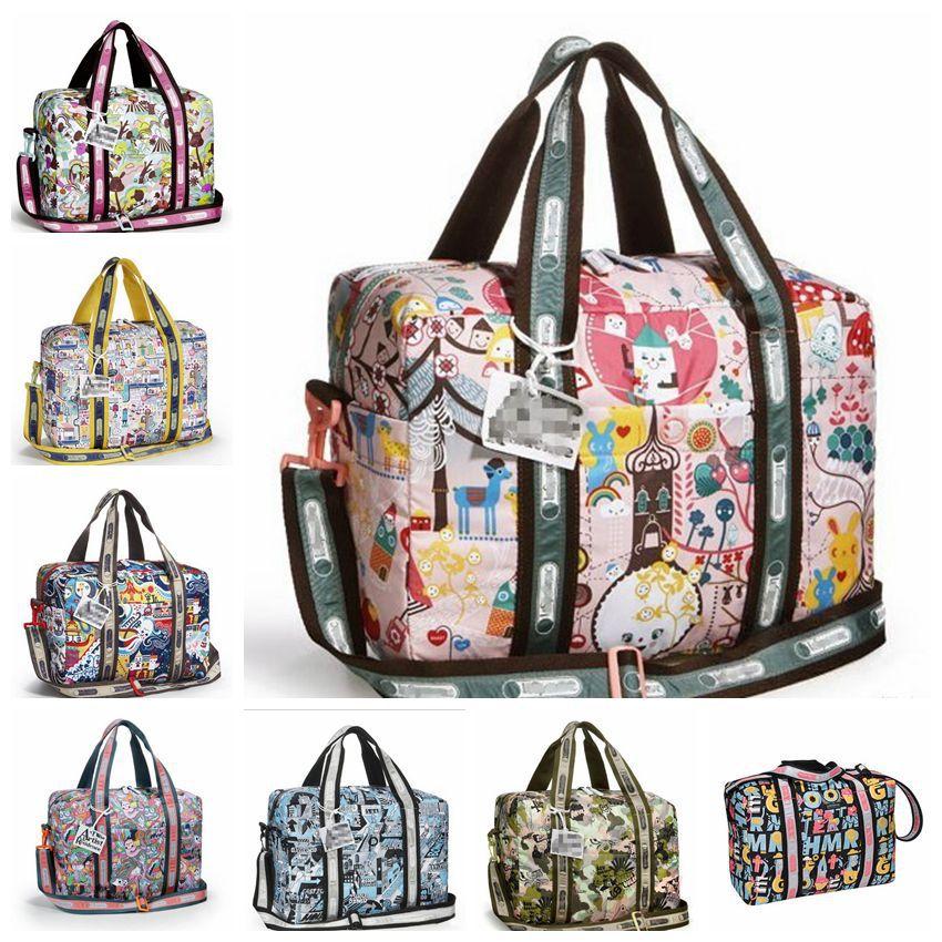 free-drop-shipping-artist-design-cute-printing-women-duffle-Bag-Girl ...