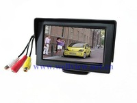 4.3 inch Rear Monitor,with 2ways video inputs,digital screen