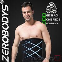 Fast Shipping ZEROBODYS Incredible Mens Body Shaper Meta Muscle Belt 346 BK Mens Waist Cincher Men Belts Male Slimming Underwear