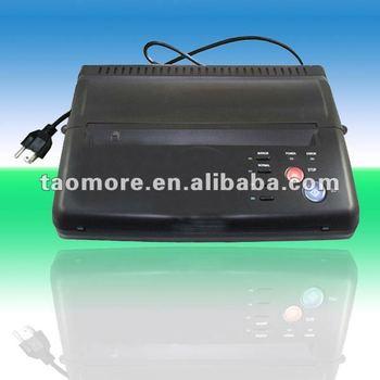 HOT Black Tattoo Thermal Stencil Paper Maker Transfer Copier Printer Machine WS-D200 for beginner tattoo kits supplies