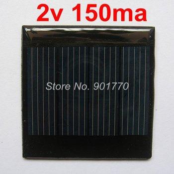 2V 150mA 0.3W mini solar panels solar power panel led small solar panel charge 1.2v aa battery