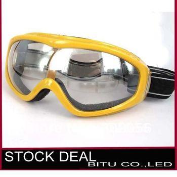 Promotion 10pcs/lot Goods for snow ski use snow glasses GL001p