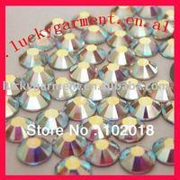 free shipping ss20 crystal ab  hot fix DMC rhinestone/crystal shine as austria crystal