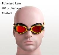Whale plating goggles polarized UV protection waterproof anti-fog coated swimming goggles men women swimming eyewear