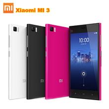 100% original Xiaomi Mi3 m3 Mi 3 16GB Quad Core WCDMA Mobile Phone Android 4.4 5.0″ IPS 1920×1080 2GB RAM Snapdragan 800 13.0MP