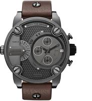 Oversized Men Watches Wrist Watches DZ7256 DZ7258 Watches PU Leather Belt  DZ Watches