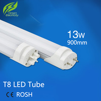 Wholesale 20pcs/lot T8 Led Tube 900mm 13W Super Brightness SMD 2835 Bulbs Tubes Light Fluorescent Tubetes AC165-265V