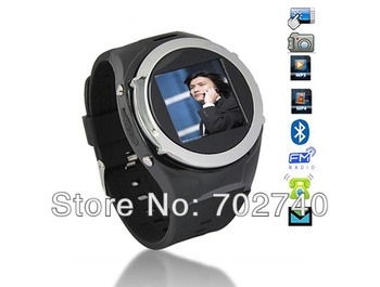 New 8GB Unlocked GSM Mobile Watch Phone Camera Touch Screen MP3 MP4 Camera Free Shipping