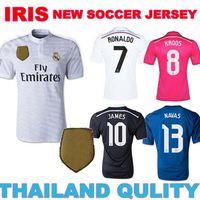 RONALDO Real Madrid 2015 WORLD Champions jersey JAMES KROOS Real Madrid jersey 14 15 real madrid world club women goalkeeper