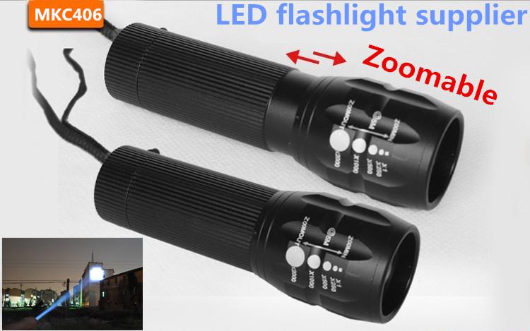 Professional for Lighting! The Best Mini LED Flashlight Lanterna Strong Lumens Penlight High Power Lantern wholesale(China (Mainland))