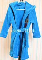 2014 Hot Sale New arrival Fireman sam winter pajama set winter Coral velvet sleepwear for boys robe SAM Coral velvet robe sam