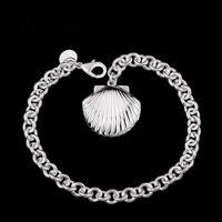 H346 locket New Arrival Latest Women chic Design 925 silver Stamp bracelet Factory pulseira / pulsera