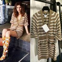 New Arrived Dress Vestidos Petal Sleeves Knee Length Trumpet Women Casual Dresses 2014