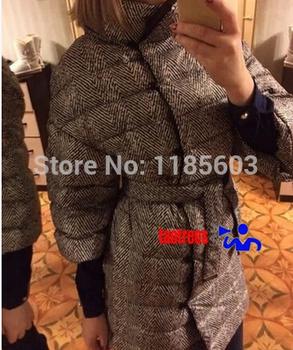 Taotrees 2014 новых мужчин мода пуховик двухсторонний теплое пальто вниз и парки