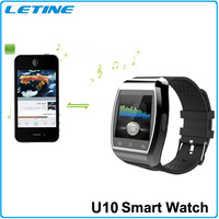 U10 Pro For iPhone 6/5/5S/5C/4S/4 Samsung Galaxy S4 Note4 Huawei Smartphone Christmas Gift Fashion Leisure Wristwatch Wristbands