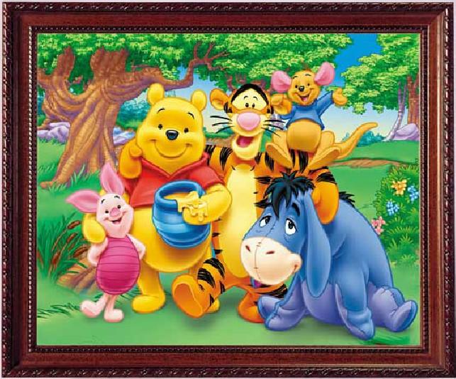 Alfombras de winnie de poo en punto de cruz imagui - Alfombra winnie the pooh ...