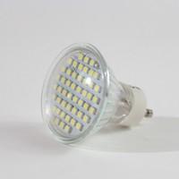 3w LED spotlight 48pcs 3528 SMD LEDs Bright Led Light GU10 Bulb Freeshipping