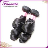 Brazilian Loose Wave Human Hair 2pcs lot Good Quality Unprocessed Virgin Brazilian Hair Weaves Ali Favorite Human Hair Extension