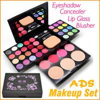 Free Shipping ADS 6328 24 Color Fashion Beauty Eyeshadow Makeup Set Eye Shadow Palette Kit