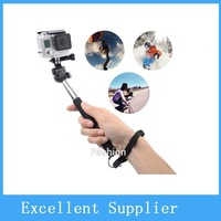 Extendable Handheld Stick Selfie Monopod Tripod With cellphone Adjustable Clip Holder for iPhone Samsung Camera
