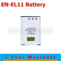 High quality EN-EL11 ENEL11 EN EL11 Batteries Battery pack for Pentax D-L178 Optio W60 M50 V20 digital camera