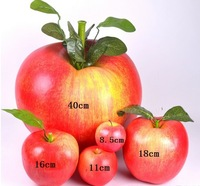 All kinds of sizes and styles artificial apples simulation apples high quality customizate apples free shipping