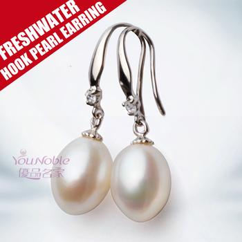 Настоящие женщины серьги перлы пресной воды 925 стерлингового серебра, день рождения часть подарок перл серьги pendientes brincos