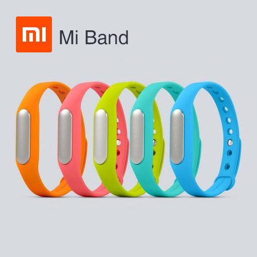 100% Original Xiaomi Mi Band Smart Miband Bracelet for Android 4.4 MI3 M4 MIUI Waterproof Tracker Fitness Wristband 5 color(China (Mainland))