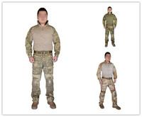 2015 NEW Combat Uniform Emerson tactical BDU Airsoft uniform Gen2 Combat Shirt & Pants with pads EM6976 EM6977 EM6978