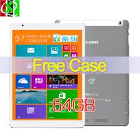 "In Stock 9.7"" Teclast X98 Air 3G Dual Boot  64GB Intel Bay Trail-T Quad Core Tablet PC ROM 2GB RAM GPS 3G Phone Call IPS Screen"