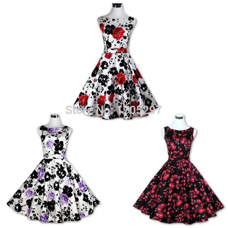 Женское платье EXO 2015 Vestidos 50s 60s 1001